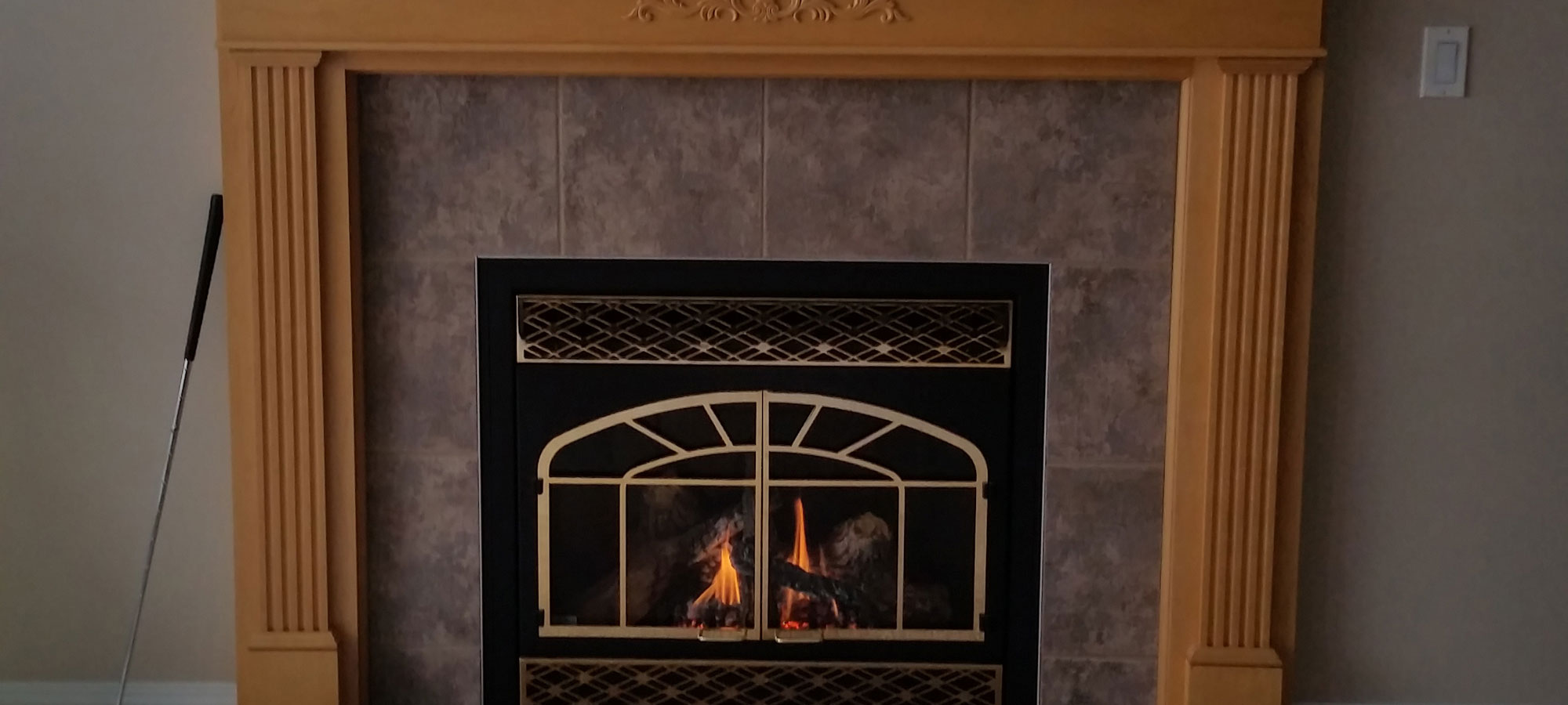 Gas Fireplace Repair Cleaning Replacement Edmonton Area